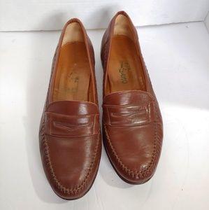 Salvatore Ferragamo leather penny loafer